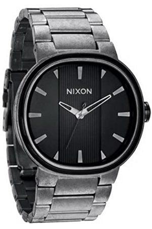Nixon Hombre Relojes - A090479-00 - Reloj analógico de Cuarzo para Hombre con Correa de Acero Inoxidable
