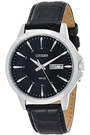 Citizen Hombre Relojes - Reloj Analógico para Hombre de Cuarzo con Correa en Cuero BF2011-01EE