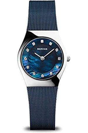 Bering Reloj Analógico para Mujer de Cuarzo con Correa en Acero Inoxidable 11927-307