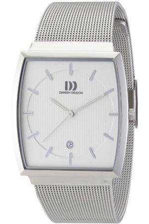 Danish Design Hombre Relojes - 3314379 - Reloj analógico de Cuarzo para Hombre con Correa de Acero Inoxidable