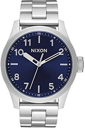 Nixon Hombre Relojes - Reloj Analógico para Hombre de Cuarzo con Correa en Acero Inoxidable A974-1258-00