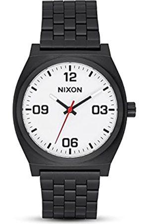 Nixon Reloj Analógico para Hombre de Cuarzo con Correa en Acero Inoxidable A1247-005-00