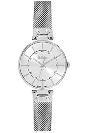 Lee Cooper Reloj Analógico para Mujer de Cuarzo con Correa en Acero LC06401
