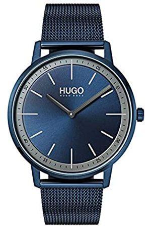 HUGO BOSS Reloj Analógico para Unisex Adultos de Cuarzo con Correa en Acero Inoxidable 1520011
