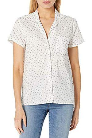 Goodthreads Camisa de Campamento de algodón Dobby Shirts