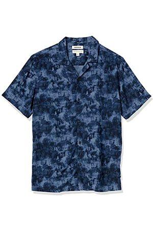 Goodthreads Hombre Casual - Standard-fit Short-Sleeve Camp Collar Hawaiian Shirt Camisa