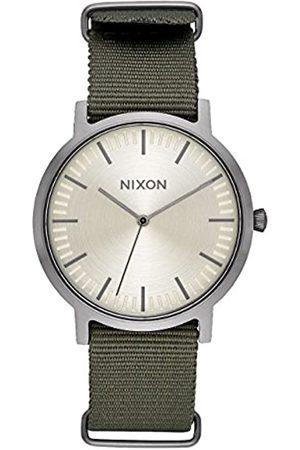 Nixon Reloj Analógico para Hombre de Cuarzo con Correa en Nailon A1059-2232-00