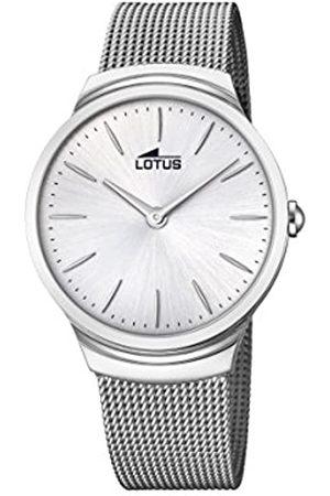 Lotus Hombre Relojes - Reloj Análogo clásico para Hombre de Cuarzo con Correa en Acero Inoxidable 18493/1