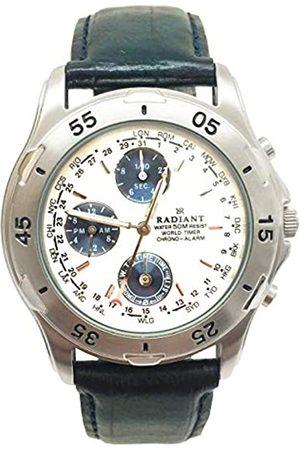 Radiant Reloj Análogo clásico para Hombre de Cuarzo con Correa en Cuero RV0002
