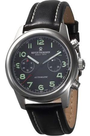 Revue Thommen Hombre Relojes - AIRSPEED Chrono 16064.6537 SL - Reloj cronógrafo de caballero automático con correa de piel