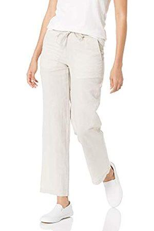 Amazon Pantalón de Pierna Ancha con cordón M