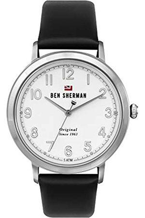 Ben Sherman Reloj Analógico para Hombre de Cuarzo con Correa en Cuero WBS113B