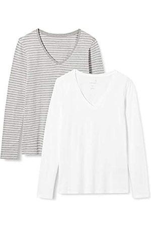 MERAKI Mujer Camisetas y Tops - AZJW-0026 Camiseta, 46