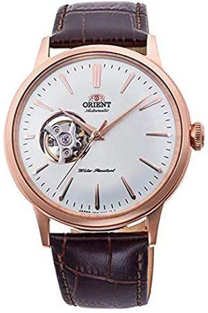 Orient Hombre Relojes - Reloj Analógico para Hombre de Automático con Correa en Cuero RA-AG0001S10B