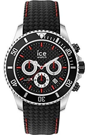 Ice-Watch Hombre Relojes - ICE steel Black racing - Reloj nero para Hombre con Correa de cuero - 017669 (Large)