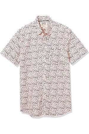 Goodthreads Slim-Fit Short-Sleeve Printed Poplin Shirt Camisa XL