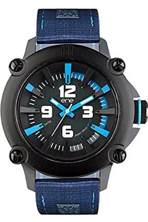 Eñe Hombre Relojes - Reloj Analógico para Hombre de Cuarzo con Correa en Nailon 640015115