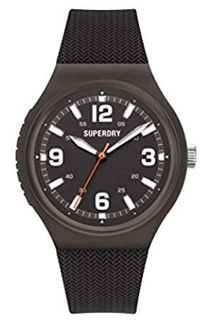 Superdry Hombre Relojes - Reloj Analógico para Hombre de Cuarzo con Correa en Silicona SYG345B