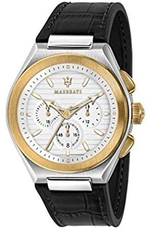 Maserati Reloj para Hombre, Colección TRICONIC, en Acero, PVD Oro