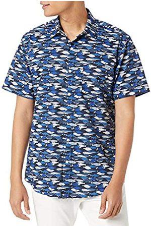 Amazon Hombre Estampadas - Playera de Manga Corta con Estampado de Ajuste Regular. Camisa