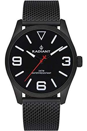 Radiant Hombre Relojes - Reloj analógico para Hombre de . Colección Darth. Reloj con Malla milanesa y Esfera Negra. 3ATM. 42mm. Referencia RA533204.