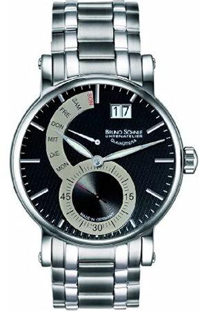 Bruno Söhnle Hombre Relojes - 17-13073-782MB - Reloj analógico de Cuarzo para Hombre con Correa de Acero Inoxidable