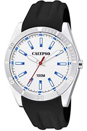 Calypso Relojes - Reloj Analógico para Unisex Adultos de Cuarzo con Correa en Plástico K5763/1