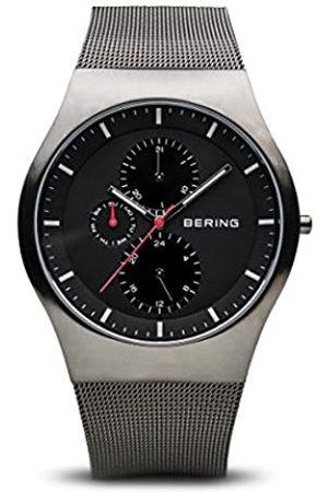 Bering Reloj Analógico para Hombre de Cuarzo con Correa en Acero Inoxidable 11942-372