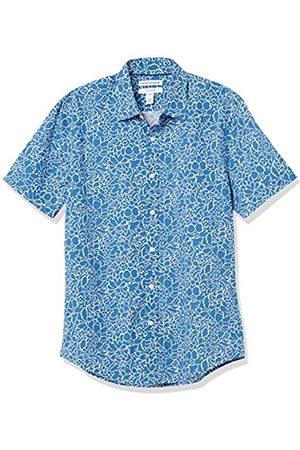 Amazon Slim-Fit Short-Sleeve Casual Poplin Shirt Camisa