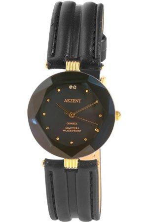 Akzent Mujer Relojes - SS7903000006 - Reloj analógico de mujer de cuarzo con correa de piel negra