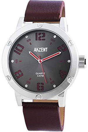 Akzent Hombre Relojes - Reloj analógico para Hombre de Cuarzo con Correa en Varios Materiales SS7521500014