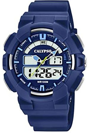 Calypso Reloj Analógico-Digital para Hombre de Cuarzo con Correa en Plástico K5772/3