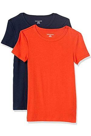 Amazon 2-Pack Slim-Fit Short-Sleeve Crewneck T-Shirt Fashion-t-Shirts S