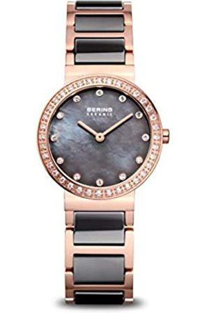 Bering Reloj Analogico para Mujer de Cuarzo con Correa en Acero Inoxidable 10729-769