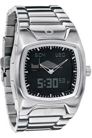 Nixon Hombre Relojes - A114000-00 - Reloj analógico y Digital de Cuarzo para Hombre con Correa de Acero Inoxidable