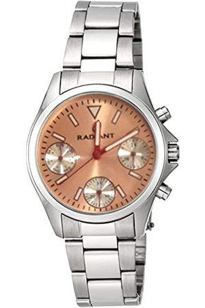 Radiant Relojes - Reloj Cronógrafo para Unisex Adultos de Cuarzo con Correa en Acero Inoxidable RA385705A