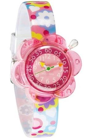 Baby Watch Niña Relojes - FLOWER POWER - Reloj 0 infantil de cuarzo con correa de plástico - sumergible a 30 metros