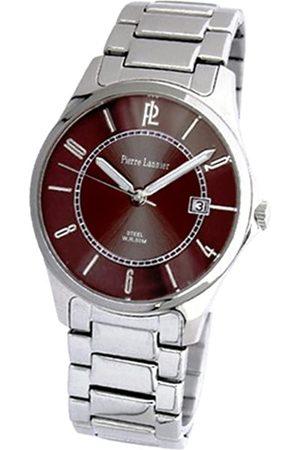 Pierre Lannier Hombre Relojes - 215B191 - Reloj analógico de Cuarzo para Hombre con Correa de Acero Inoxidable