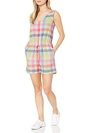 Amazon Essentials Sleeveless Linen Romper Jumpsuits-Apparel