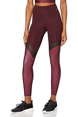 AURIQUE Mujer Leggings - Mallas de Deporte Yoga con Panel de Rejilla Mujer, 36