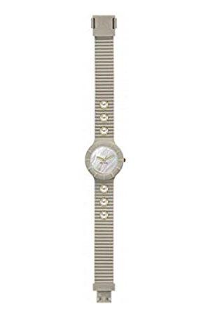 Hip Reloj Mujer Pearls Esfera e Correa in silicio, Glam Beis