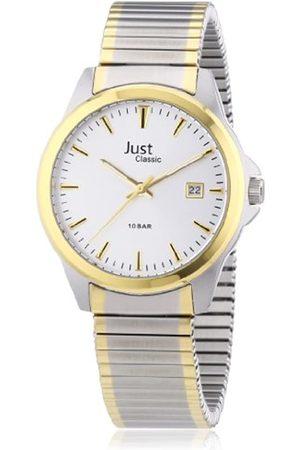 Just Watches Hombre Relojes - Just Just - Reloj analógico de caballero de cuarzo con correa de acero inoxidable - sumergible a 100 metros