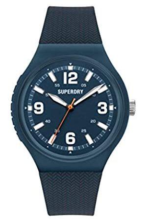 Superdry Hombre Relojes - Reloj Analógico para Hombre de Cuarzo con Correa en Silicona SYG345U