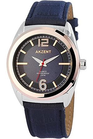Akzent Hombre Relojes - Reloj analógico para Hombre de Cuarzo con Correa en Varios Materiales SS7513100009