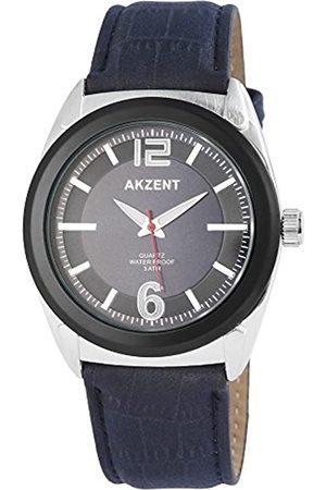 Akzent Hombre Relojes - Reloj analógico para Hombre de Cuarzo con Correa en Varios Materiales SS7513000009
