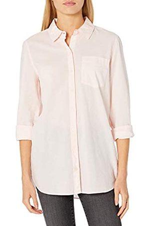 Goodthreads Cotton Dobby Long-Sleeve Button-Front Tunic Shirt Shirts XXL