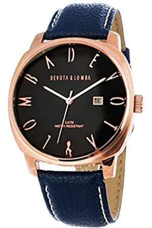 Devota & Lomba Hombre Relojes - Devota & Lomba Reloj Analog-Digital para Mens de Automatic con Correa en Cloth S0334167