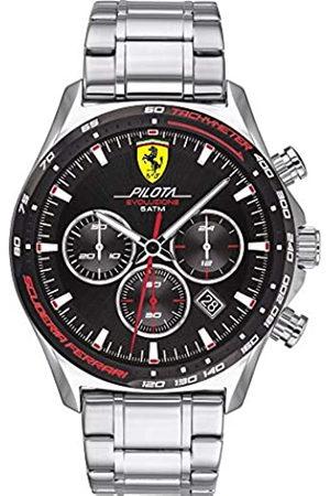 Scuderia Ferrari Hombre Relojes - ScuderiaFerrariRelojparadeCuarzoconCorreaenAceroInoxidable830714