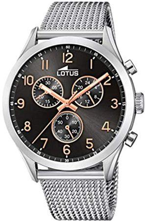 Lotus Reloj Cronógrafo para Hombre de Cuarzo con Correa en Acero Inoxidable 18637/4
