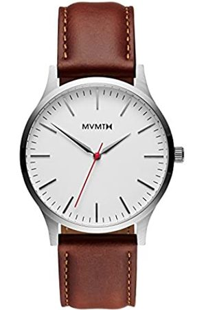 MVMT Hombre Relojes - RelojAnalógicoparaHombredeCuarzoconCorreaenCueroD-MT01-SNA